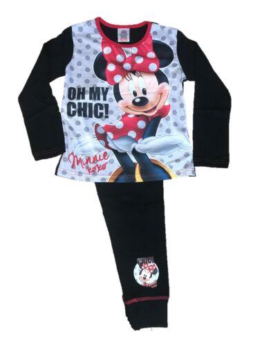 Disney Filles Pyjama Minnie Mouse Enfants Officiel