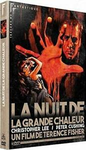 DVD-La-Nuit-de-la-Grande-Chaleur-Christopher-Lee-Peter-Cushing-NEUF-cello