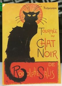 Postcard-Animal-Cat-Le-Chat-Noir-posted-2012