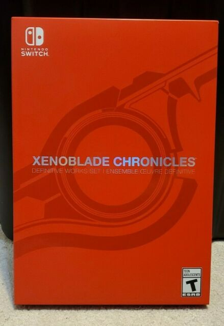 SEALED Xenoblade Chronicles Definitive Works Edition Set - nintendo switch game