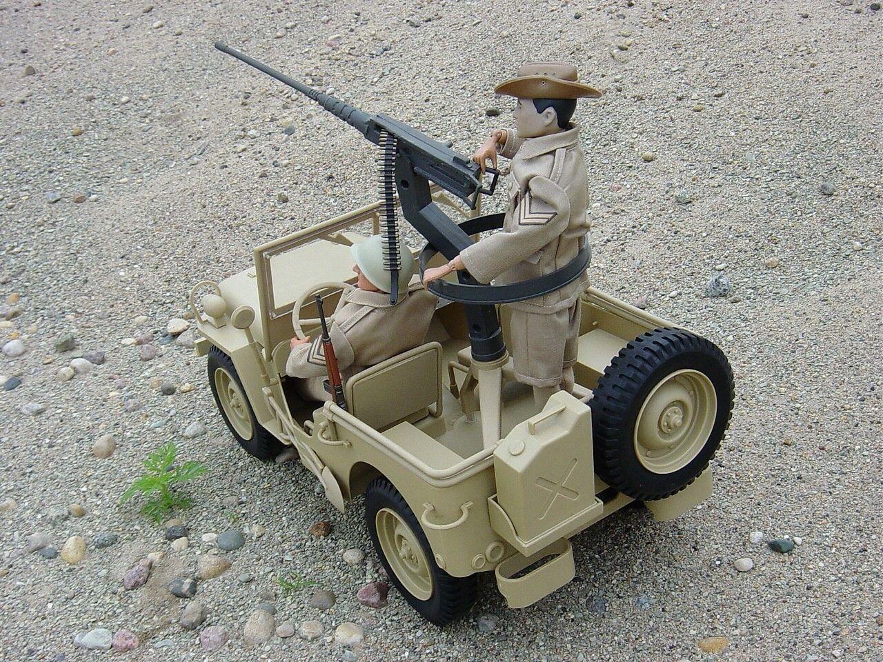 GI Joe Desert Patrol attaque Jeep Tan, James de Simone s'adapte vintage GI JOE