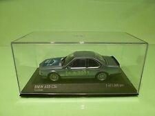 MINICHAMPS BMW 635 CSi - IAA 2001 limited RARE - BLUE 1:43 - EXCELLENT IN BOX