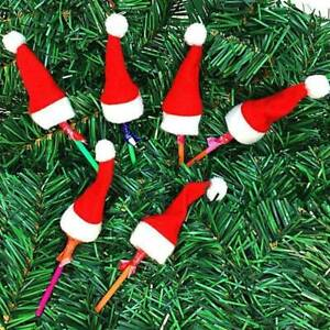 10Pcs-lot-Mini-Christmas-Silverware-Holder-Xmas-Tree-Santa-Claus-Christmas-Hats
