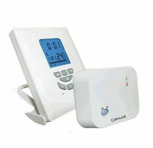 SALUS® T105RF Wireless Digital Programmable Room Thermostat
