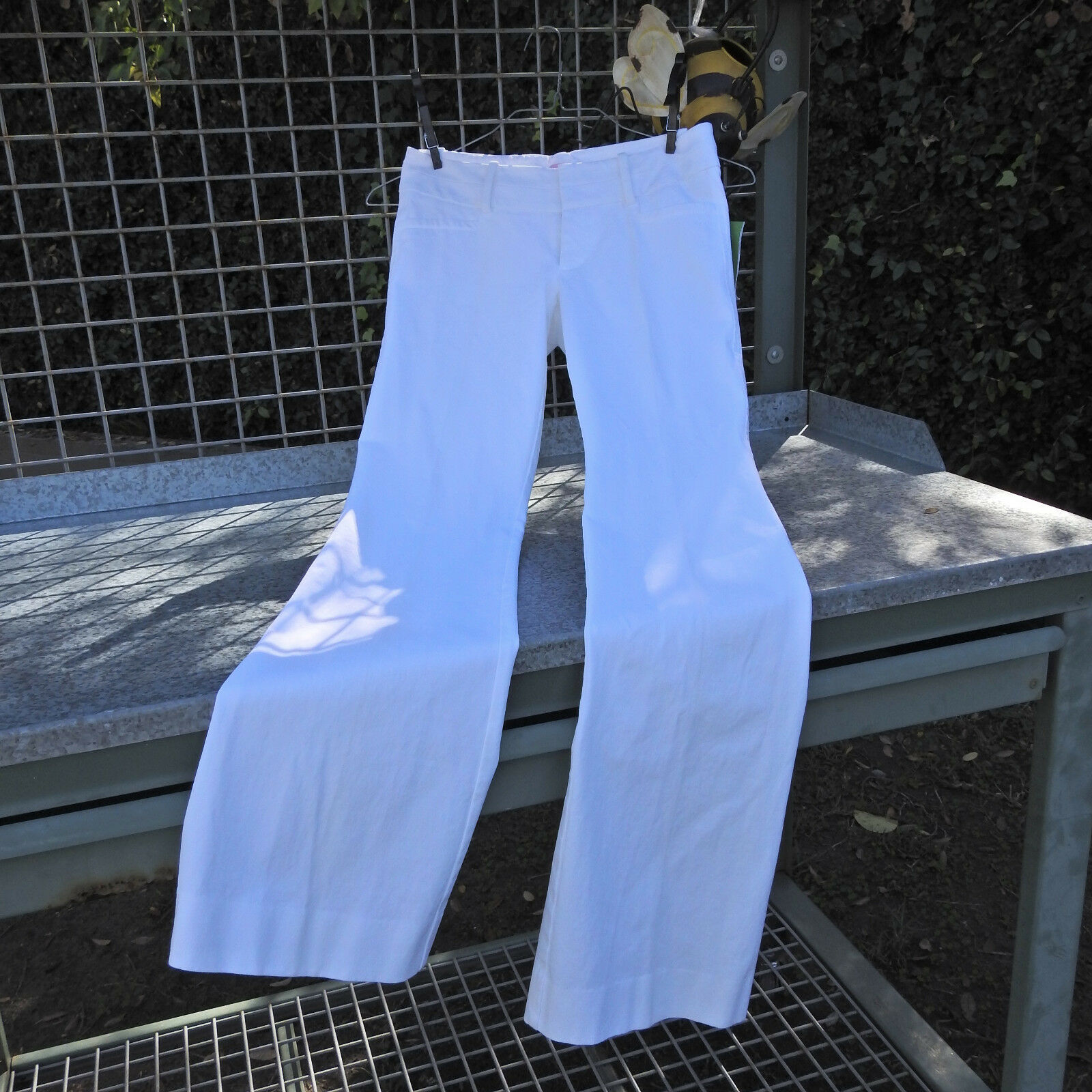 Lilly Pulitzer Jet Set Trouser Resort White Size 0