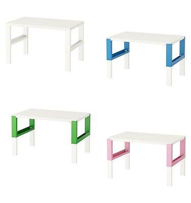 Scrivania Ikea Alve.Pahl Scrivania Bianco 96x58 Cm Ikea Regolabile In Altezza 59 Cm 66 Cm 72 Cm Brand Ebay