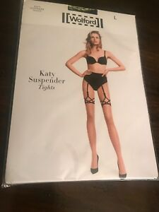 b68b2b7bc Image is loading wolford-Katy-Suspender-Tights-L-NWT