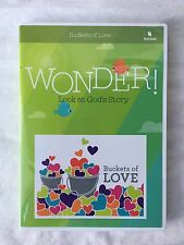 Wonder! Buckets of Love Look at God's Story Preschool First Look DVD CD