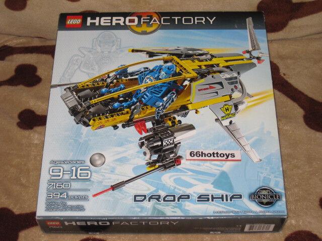 LEGO 7160 Hero Factory Goldp Ship NEW