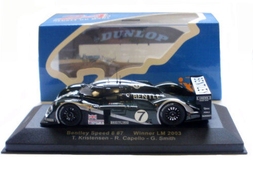 Ixo LM2003 bentley speed 8  7 le mans winner 2003-échelle 1 43