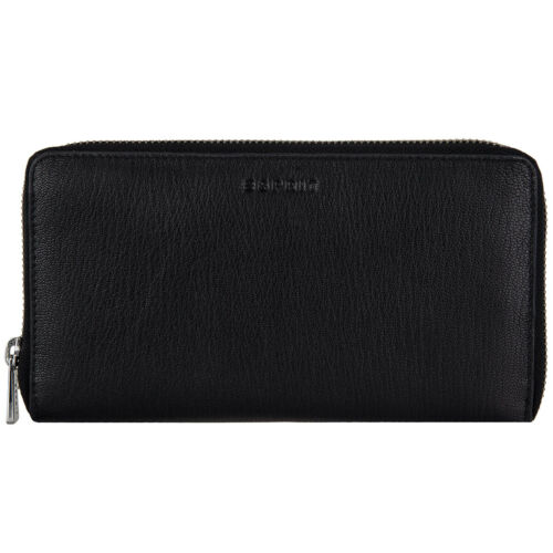 ESPRIT Basic Leder Reißverschluss Geldbörse Portemonnaie Geldbeutel 086EA1V030