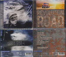 2 CD, laneslide-Flying High + rivoluzione Road (2013) Great melodic rock, aor