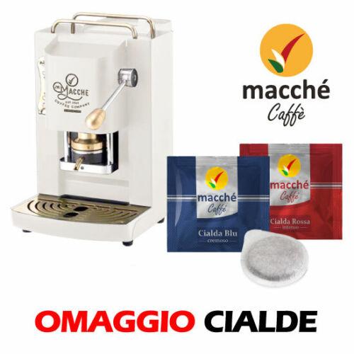 Machine Café/' Gaufres 44MM Macchè Slot Pro Série Inox By Faber Blanc Satin
