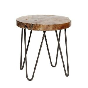Wood-Antique-Side-Table-With-Steel-Legs-Height-48-cm-by-Hubsch