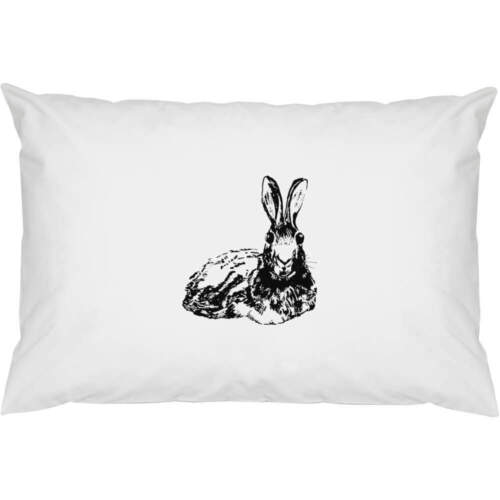 2 x /'Laying Hare/' Cotton Pillow Cases PW00007015