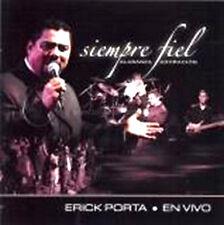 Siempre Fiel- Erik Porta En Vivo- CD de musica cristiana