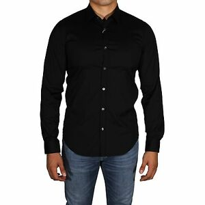 a534ee23bc Lacoste Shirt Slim Fit Men's Stretch Cotton Long Sleeve Button Down ...