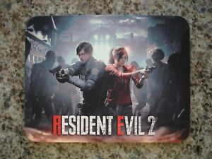 Resident Evil 2 Remake Claire Redfield & Leon S. Kennedy Mousepad NEW/OVP
