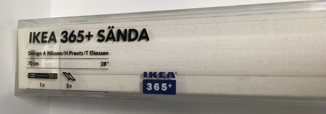 Ikea Sanda 365 Track Lighting System 70cm Section 801 316 86