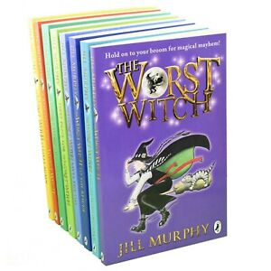 Worst-Witch-8-Books-Young-Adult-Collection-Paperback-Box-Set-By-Jill-Murphy