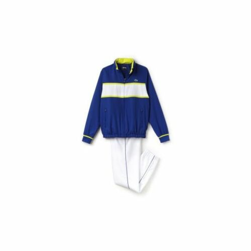 blanco completo 5 Tenis 185 Rrp azul Sport L Wh2081 chndal Tamao Lacoste 3614036516434 Bnwt txzwI0I