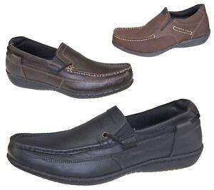 13219998b71 La imagen se está cargando Para-Hombre-Slip-On-Zapatos-Casual-Mocasines- mocasin-
