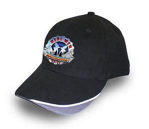 KENWORTH TRUCK /'REAL MEN/' BLACK BASEBALL  CAP//HAT