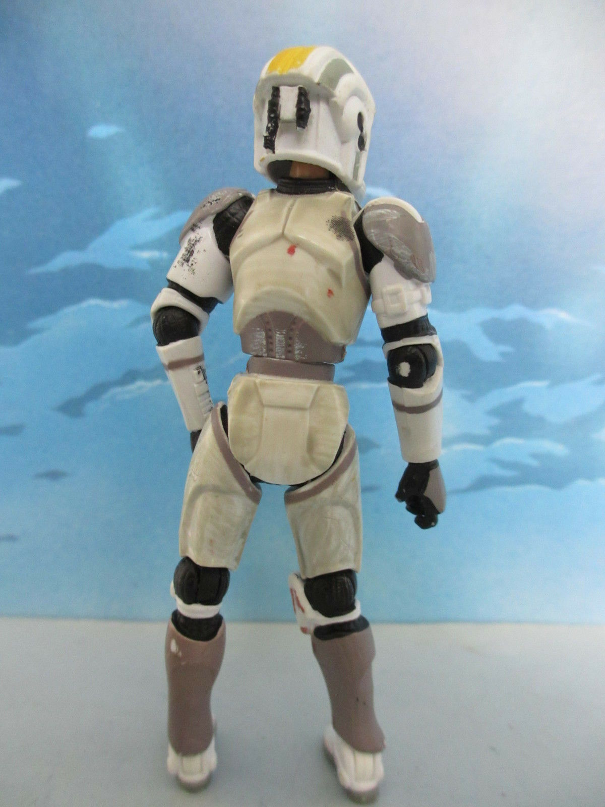 Figurine StarWars : FIGURINE DE COLLECTION STAR WARS - HASBRO 2005 - STORMTROOPER