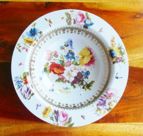 Faux China TIN Small Bowl White Ground Victoria /& Albert Museum Reproduction New