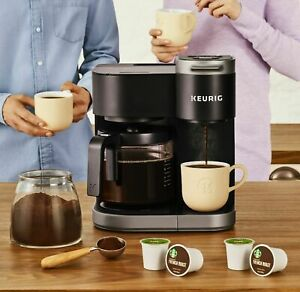 240-Ct EZ Carafe Large Paper Coffee Filter with Lid for Keurig 2.0 Carafe Maker