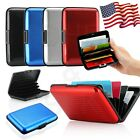 Waterproof Business ID Credit Card Wallet Holder Aluminum Metal Pocket Case Box