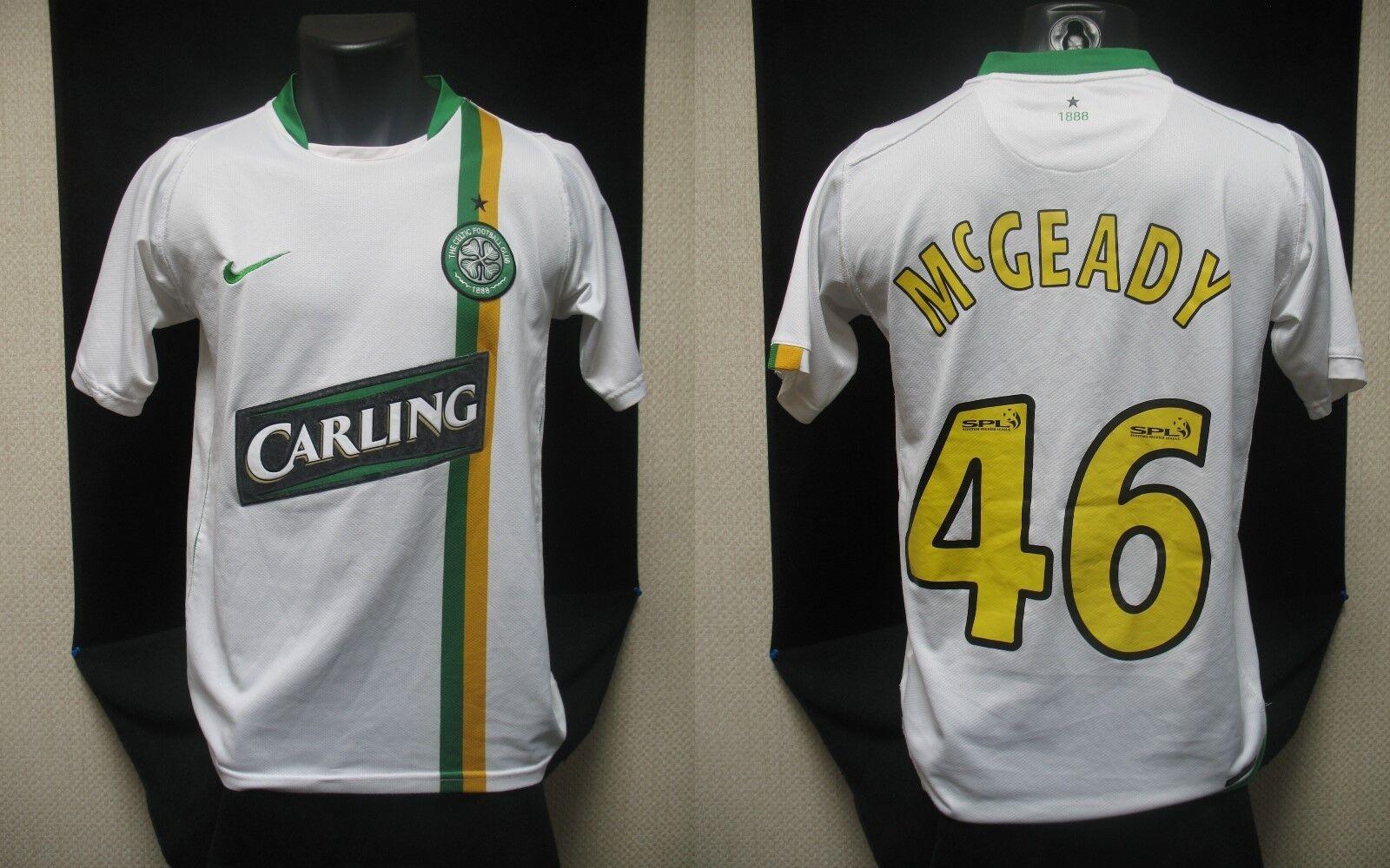 Maillot CELTIC GLASGOW 2006-2008 cup Mc GRADY  shirt maglia camiseta jersey