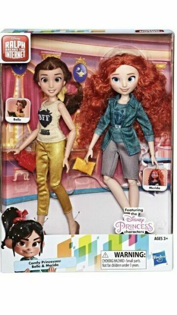 Disney Ralph Breaks The Internet Comfy Princesses 2 Pks 12 Movie Dolls For Sale Online Ebay