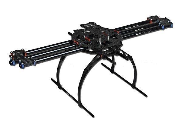 Tarojo 3K 3K 3K carbono metálica plegable tipo Hexa Helicóptero Kit FY680 versión de brazo de aluminio  Con precio barato para obtener la mejor marca.