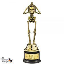 Best Costume Winner Skeleton Award Trophy 24cm Halloween Fancy Dress Party Prize