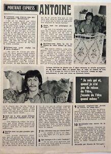 Le-chanteur-ANTOINE-gt-coupure-de-presse-1-page-1970-CLIPPING
