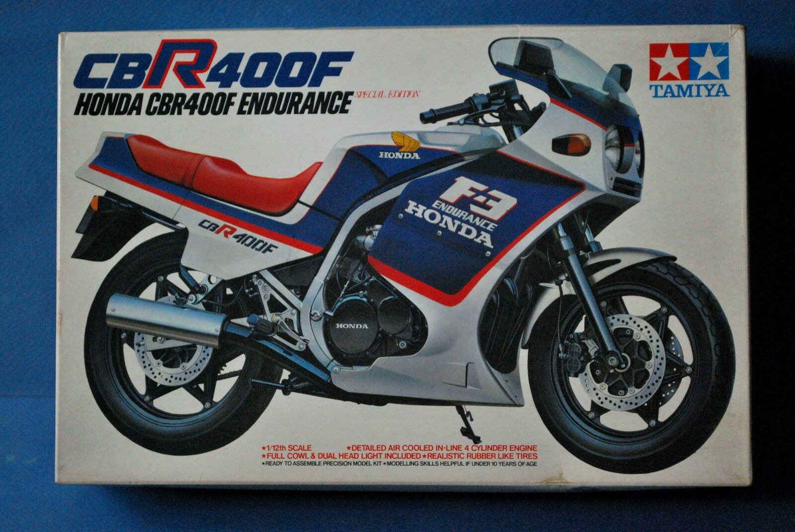 TAMIYA 1 12  HONDA CBR 400F. SPECIAL EDITION.  No.39    VERY RARE KIT