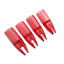 50pcs-Archery-Arrow-Nocks-ID8mm-Plastic-Tails-for-Wood-Bamboo-Shaft-Bow-Hunting thumbnail 4