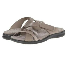 1837f366a88b Women Sandals - ECCO Babett Sandal Strap Slide Moon Rock Moon Sz 39 ...