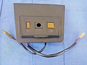 72 73 datsun 240z fuse box door cover defrost switch chock nice rh ebay com Square D Fuse Box Doors Fuse Box School