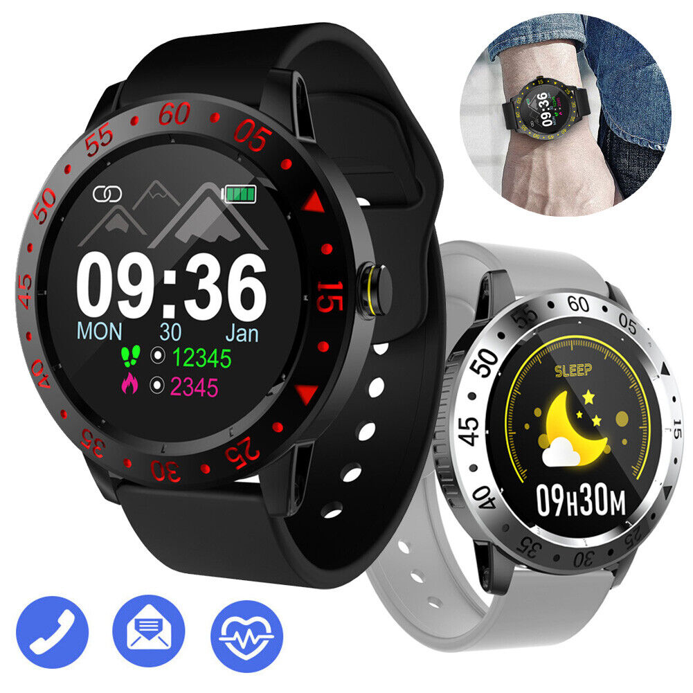 2021 Smart Watch Fitness Tracker Health Exercise Watch Heart Rate Sleep Monitor