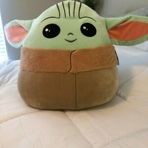 "STAR WARS Mandalorian The Child BABY YODA Squishmallow 20/""Jumbo XL NWT!!!"