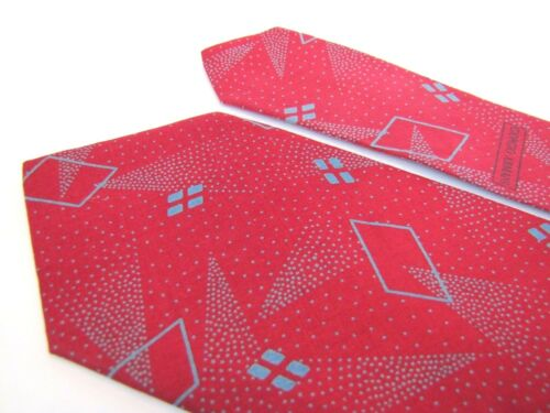 Vintage Trendy GIORGIO ARMANI Tie Vibrant Cherry R