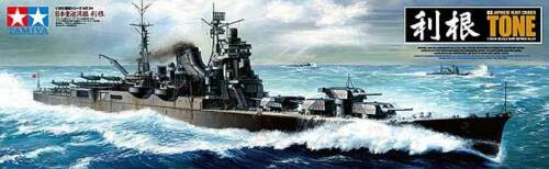 Tamiya 1350 Imperial Japanese Navy Heavy Cruiser Tone