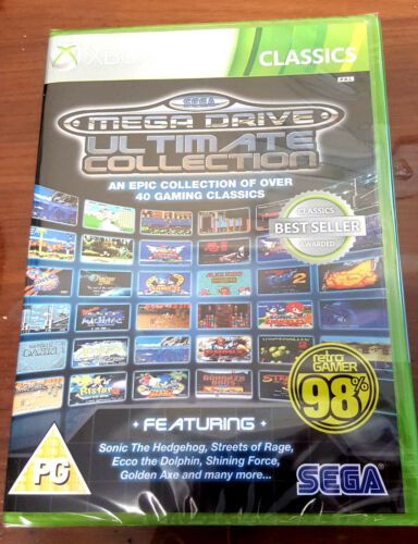 1 of 1 - SEGA Mega Drive Ultimate Collection Xbox 360 Brand New *DISPATCHED FROM BRISBANE