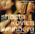 Shostakovich: Chamber Symphonies Op.110a & 118a; Weinberg: Concertino Op. 42 Super Audio Hybrid CD (CD, Sep-2013, 2 Discs, Channel Classics)