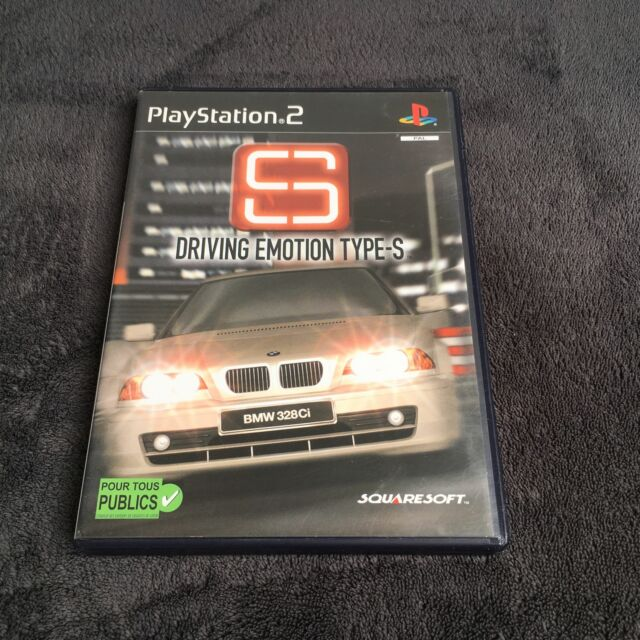 PS2 Driving Emotion Type-S FRA CD état Neuf Playstation 2