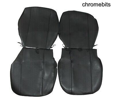 1+1 Lux Housses de protection Sitzbezüge gris noir pour SUBARU SUZUKI TOYOTA VOLVO VW