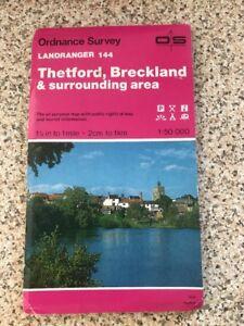 Ordnance-Survey-Map-144-Thetford-Breckland-amp-Surrounding-Area