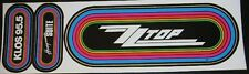 KLOS Rainbow Decal/Sticker - ZZTOP Logo Decal w/Honeymoon Suite